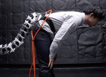 Arque, a seahorse-inspired robotic tail, will help you balance