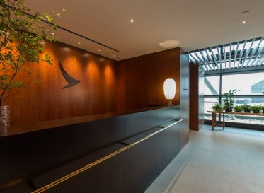 Steered by user-centric design, luxury gets functional at this Shanghai Pudong Airport VIP lounge