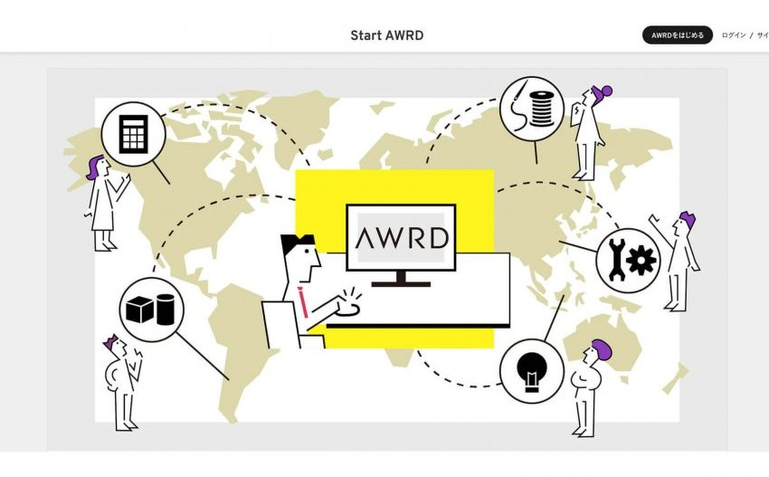 AWRD is a platform that utilizes a vast creator community to help accelerate product development