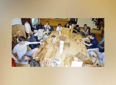 国内外6大学が参加した、木工×IoT飛騨合宿プログラム「Smart Sraft Studio」
