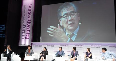 細胞から宇宙まで。都市づくりの未来を議論した、 Innovative City Forum参加レポート