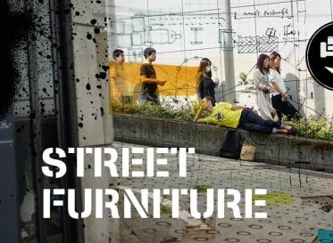 10/23、渋谷・道玄坂にちょっと変わった家具が出現!? <br /> Street Furniture@渋谷音楽祭2016ー
