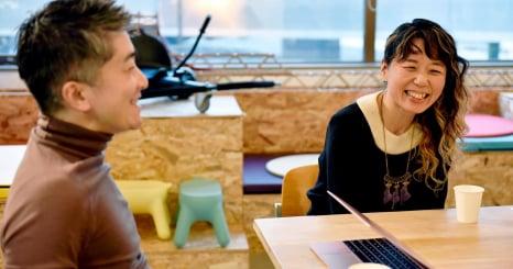 諏訪光洋×金森香 対談 金森香さんがロフトワークに入社した理由