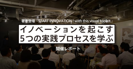 「イノベーションを起こす5つの実践プロセスを学ぶ START INNOVATION ! with this visual toolkit.」開催レポート