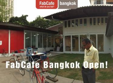 タイで初めてのデジタルものづくりカフェ<br /> 「FabCafe Bangkok」がオープン!