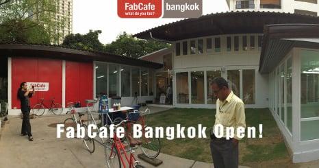 タイで初めてのデジタルものづくりカフェ 「FabCafe Bangkok」がオープン!