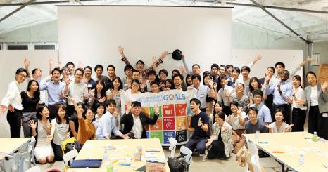 SDGsは、視点を変える糸口になる。 開かれたチームで実現する、100年先の未来
