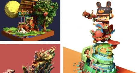 ZBrush Week イラストレーター福井信明の世界と 3D表現の拡張性