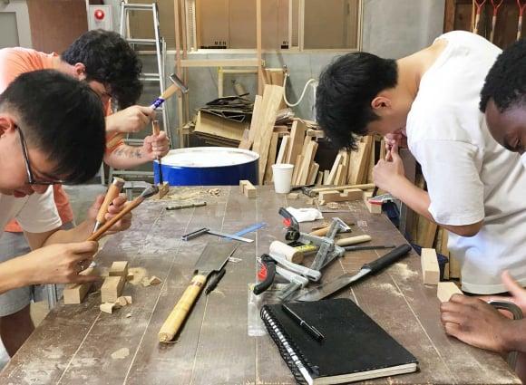 飛騨に滞在して伝統技術とテクノロジーを学ぶ、 NY州立大の教育プログラムデザイン
