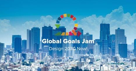 グローバルな視点で持続可能性を考え、<br /> ローカルな課題解決のアイディアを生み出す<br /> Global Goals Jam Tokyo 2018