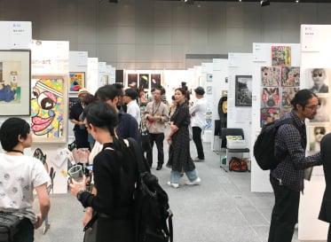 UNKNOWN ASIA Art Exchange Osaka 2018<br /> ロフトワークの木下と小島がレビュアーとして参加