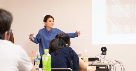 創造的思考で課題解決するには? ディレクター基真理子「続・enocoの学校 2019」に講師登壇