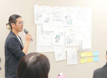 アイデアとは他者との関わりの中から生まれるもの 京都産学公連携機構の講習会に寺井翔茉が登壇