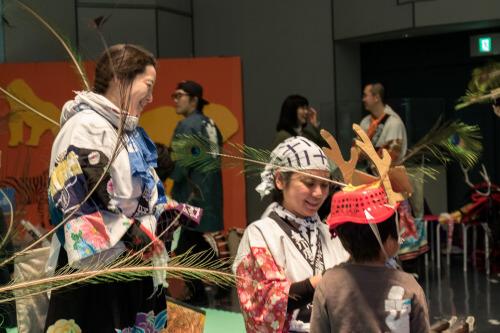 写真:東京鹿踊