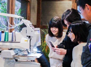 企業・クリエイター・研究者<br /> 3つの視点で開拓するデジタル刺繍ミシンの新市場