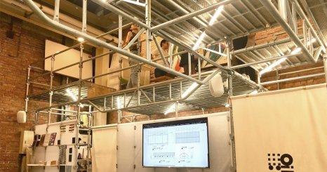 ロフトワーク台湾の新オフィス完成 KeepChanging―足場で作り上げた変化し続ける空間