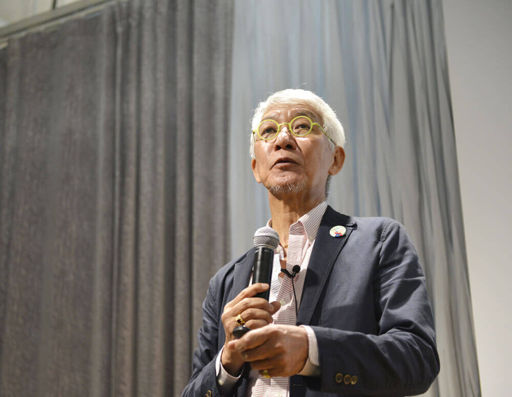 地球村研究室 代表 東北大學名譽教授 博士 石田 秀輝氏
