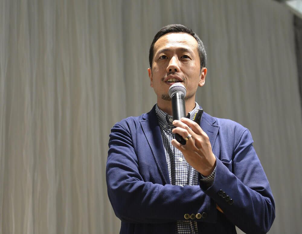 審查員 奧谷 孝司先生