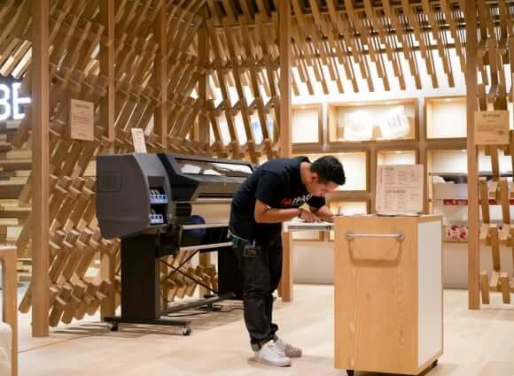 ISETAN The Japan Store 打造馬來西亞第一個數位製造空間