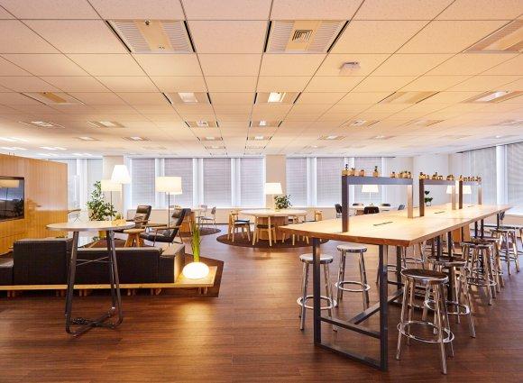 適合工作的多用途辦公室空間・Barista Space